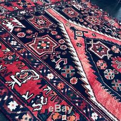 C 1930 Stunning Antique Vintage Exquisite Hand Made Rug 4' 5 x 6' 8