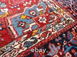 C 1930 Vintage Antique Hand Made Exquisite Hand Knotted 4x6 Rug 4' 10 x 6' 4