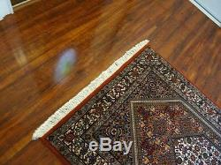C 1960 Stunning Antique Vintage Exquisite Hand Made Hand Knotted Rug 2.9x4.8