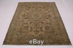 Enchanting Muted Antique Washed Vintage Persian Rug Oriental Area Carpet 9X13