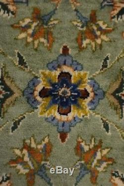Fanciful S Antique Handmade Sage Vintage Persian Rug Oriental Area Carpet 9X13