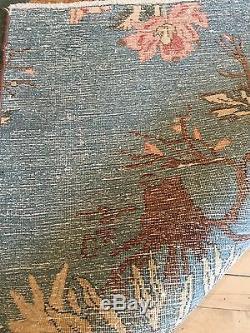 Fine Persian Khorassan Rug 9x12 Vintage 1950 European design Oriental Rug