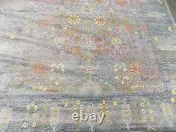 GREY / MULTI 8' X 10' Stained Rug, Reduced Price 1172601306 VAL108C-8