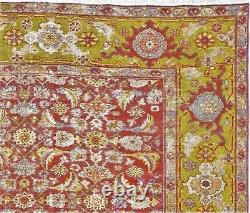 Genuine hand knotted distressed antique rug. 9'8x 10'11