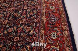 Great Shape Allover Design Navy Vintage Persian Rug Oriental Area Carpet 10X13