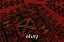 Hand-Knotted Carpet 5'8 x 7'10 Traditional Oriental Wool Area Rug