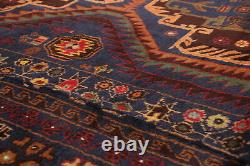 Hand-knotted Afghan Carpet 5'8 x 9'11 Teimani Traditional Wool Rug