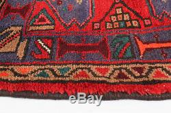 Hand-knotted Carpet 3'5 x 7'0 Traditional Vintage Wool Rug