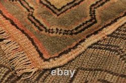 Hand-knotted Carpet 4'7 x 10'3 Traditional Vintage Wool Rug. DISCOUNTED