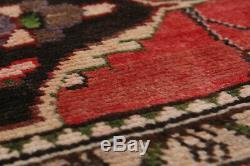 Hand-knotted Persian 3'8 x 9'10 Persian Vintage Traditional Wool Rug