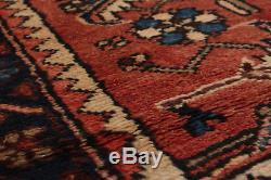 Hand-knotted Persian Carpet 3'3 x 9'6 Persian Vintage Wool Rug. DISCOUNTED