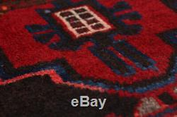 Hand-knotted Persian Carpet 3'3 x 9'9 Persian Vintage Traditional Wool Rug