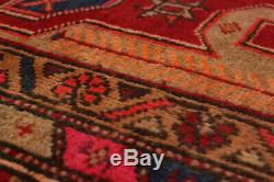 Hand-knotted Persian Carpet 3'9 x 10'5 Persian Vintage Traditional Wool Rug