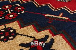 Hand knotted Persian Carpet 5'4 x 10'0 Traditional Vintage Wool Rug