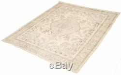 Hand-knotted Turkish 10'0 x 12'5 Antalya Vintage Wool Rug. DISCOUNTED