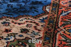 Hand-knotted Turkish 3'10 x 6'7 Melis Vintage Wool Rug. DISCOUNTED