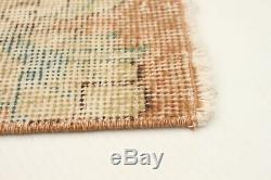 Hand-knotted Turkish 5'7 x 8'10 Anatolian Vintage Wool Rug. DISCOUNTED