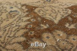 Hand-knotted Turkish 6'8 x 10'4 Antalya Vintage Wool Rug. DISCOUNTED