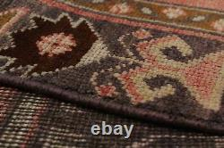 Hand-knotted Turkish Carpet 4'4 x 9'5 Anadol Vintage Traditional Wool Rug