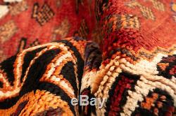 Hand-knotted Turkish Carpet 4'5 x 6'2 Melis Vintage Traditional Wool Rug