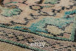 Hand-knotted Turkish Carpet 5'7 x 9'1 Melis Vintage Traditional Wool Rug