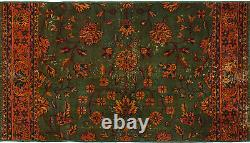 Hand-knotted Turkish Carpet 6'10 x 3'10 Anadol Vintage Wool Rug. DISCOUNTED