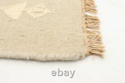 Hand woven Turkish Carpet 5'6 x 7'8 Ankara FW Traditional Wool Kilim