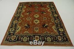 Handmade Vintage 8X12 Floral Persian Rug Oriental Home Décor Carpet
