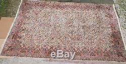 Huge Vintage Karastan Kirman 759 MultiColor Wool Rug 11'5 x 18' Palace