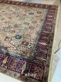 Karastan Samovar 900-901 PERSIANn VASE 100% Wool Pile Rug 8'8 x 12' USA