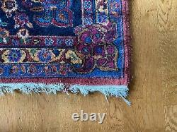 King of the Boho Rugs! - Big and Beautiful 9x 12 Antique Machine Made Wool Carpet