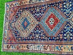 LOVELY LONG vintage WOOL PERSIAN ORIENTAL Runner RUG CARPET 410 x 85cm