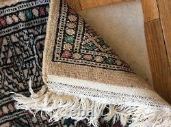 Large huge antique/vintage rug carpet wool pers ian runner 200cm x 63cm hall