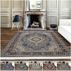 New Traditional Style S\ Large Thick Antique Rug Oriental Style For Living Room