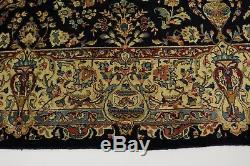 Nice Antique Vintage Signed Kashmar Persian Rug Oriental Area Carpet Sale 10X13