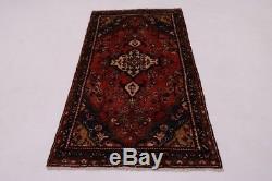 Nice Handmade Vintage Lilian Hamedan Persian Rug Oriental Area Carpet 3'3X6'5