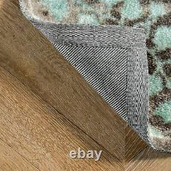 NuLOOM Traditional Vintage Distressed Corene Area Rug in Gray and Aqua Blue