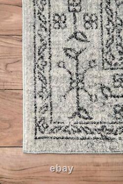 NuLOOM Traditional Vintage Waddell Grey Color Area Rug