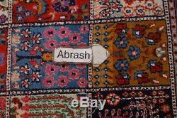 One-of-a-Kind Vintage Garden Design Mood Kashmar Oriental Area Rug Wool 7x10