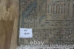Overdyed Persian Garajeh runner 12'4 x 3 FT Antique Persian runner long rug