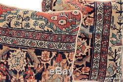 Pair of ANTIQUE Handmade pillow made of Vintage 19th century Persian Farhan rug