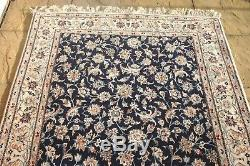 Persian Habibian Nain Isfahann silk and wool handmade hand knotted rug 215 x 130