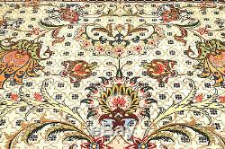 Persian Tabrizz silk and wool handmade hand knotted rug 300 x 200 cm