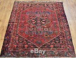 Persian Traditional Vintage Wool 189cmX127cm Oriental Rug Handmade Carpet Rugs