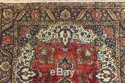Persian Traditional Vintage Wool 190cmX140cm Oriental Rug Handmade Carpet Rugs