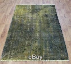 Persian Traditional Vintage Wool 222cmX129cm Oriental Rug Handmade Carpet Rugs