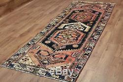 Persian Traditional Vintage Wool 260cmX93cm Oriental Rug Handmade Carpet Rugs