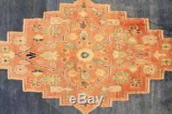 Persian Traditional Vintage Wool 2.7 X 7.8 Handmade Rugs Oriental Rug Carpet