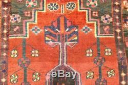 Persian Traditional Vintage Wool 3.5 X 5.8 Oriental Rug Handmade Carpet Rugs