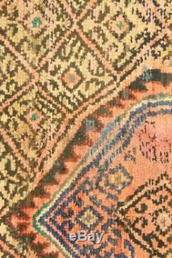 Persian Traditional Vintage Wool 3.5 X 5.9 Oriental Rug Handmade Carpet Rugs